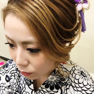夜会巻 色気 大人女子 エレガント ヘアスタイルや髪型の写真・画像 ヘアスタイルや髪型の写真・画像