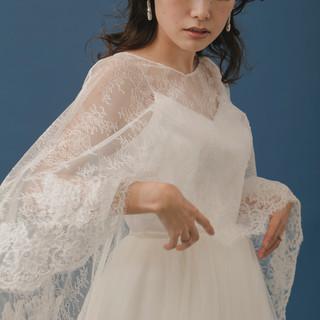 セミロング ゆるナチュラル フェミニン ヘアアレンジ ヘアスタイルや髪型の写真・画像 | tomoya tamada / Bridal hairmake