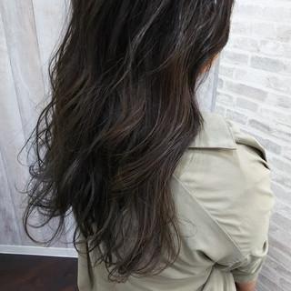ブリーチ デート 波ウェーブ ハイライト ヘアスタイルや髪型の写真・画像