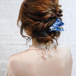 トレンド ショート バレッタ ミディアム ヘアスタイルや髪型の写真・画像