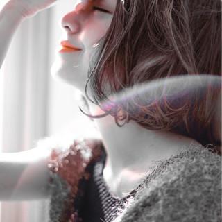 グラデーションカラー 暗髪 黒髪 外国人風 ヘアスタイルや髪型の写真・画像