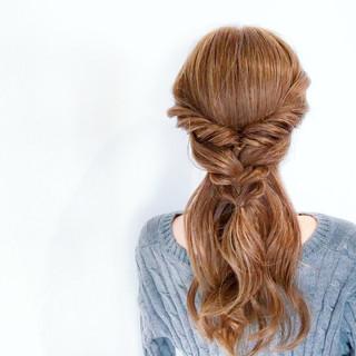 ショート デート セミロング アウトドア ヘアスタイルや髪型の写真・画像