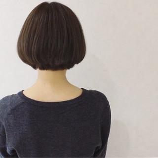 ショート 大人女子 大人かわいい 小顔 ヘアスタイルや髪型の写真・画像
