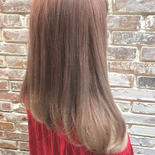 ヘアアレンジ フェミニン アウトドア ミディアム ヘアスタイルや髪型の写真・画像