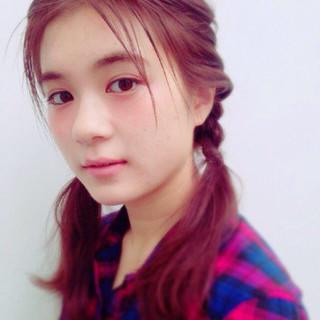 ヘアアレンジ ゆるふわ ルーズ フェミニン ヘアスタイルや髪型の写真・画像