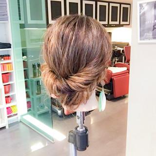 雨の日 梅雨 簡単ヘアアレンジ ヘアアレンジ ヘアスタイルや髪型の写真・画像