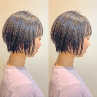 スタイリング動画 ショートヘア ショートパーマ ショート ヘアスタイルや髪型の写真・画像