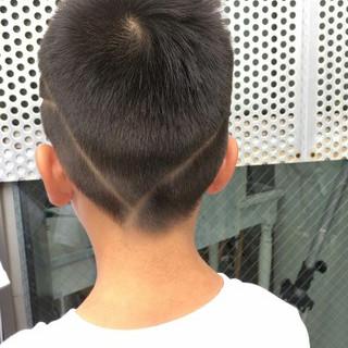 子供 ストリート 刈り上げ ベリーショート ヘアスタイルや髪型の写真・画像 ヘアスタイルや髪型の写真・画像