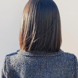 ナチュラル ヌーディベージュ ボブ ブラウンベージュ ヘアスタイルや髪型の写真・画像