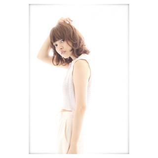 抜け感 ストリート 外国人風 ボブ ヘアスタイルや髪型の写真・画像