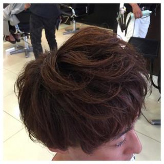 かっこいい ストリート ボーイッシュ レイヤーカット ヘアスタイルや髪型の写真・画像 ヘアスタイルや髪型の写真・画像