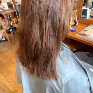 ミディアム ナチュラル 透明感カラー ミディアムヘアーヘアスタイルや髪型の写真・画像