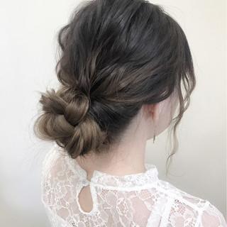 ヘアアレンジ デート フェミニン 大人かわいい ヘアスタイルや髪型の写真・画像 ヘアスタイルや髪型の写真・画像