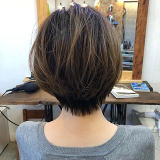 美髪 ツヤツヤ 無造作ミックス ヘアカット ヘアスタイルや髪型の写真・画像