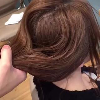 ショート ミディアム ヘアアレンジ メッシーバン ヘアスタイルや髪型の写真・画像