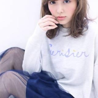フェミニン モテ髪 大人かわいい ゆるふわ ヘアスタイルや髪型の写真・画像 ヘアスタイルや髪型の写真・画像