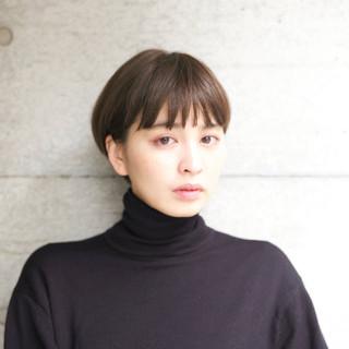 似合わせ グレージュ 外国人風カラー 小顔 ヘアスタイルや髪型の写真・画像 ヘアスタイルや髪型の写真・画像