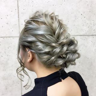 結婚式 エレガント ヘアセット 成人式 ヘアスタイルや髪型の写真・画像