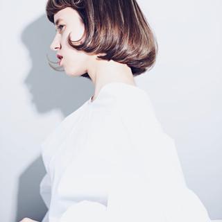 レトロ 秋ブラウン 秋冬スタイル 秋 ヘアスタイルや髪型の写真・画像