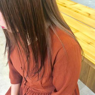 透明感 ロング 秋 ガーリー ヘアスタイルや髪型の写真・画像