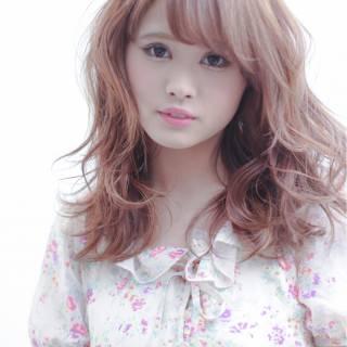 モテ髪 春 フェミニン ガーリー ヘアスタイルや髪型の写真・画像 ヘアスタイルや髪型の写真・画像
