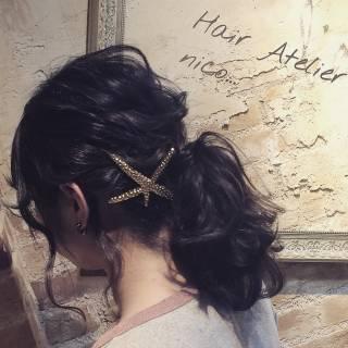 ミディアム 愛され モテ髪 コンサバ ヘアスタイルや髪型の写真・画像