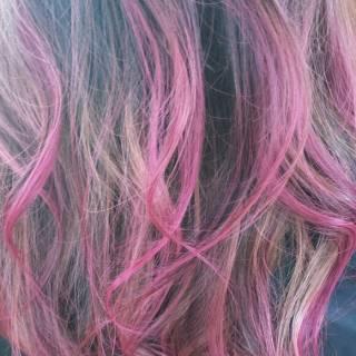 春 外国人風 グラデーションカラー ストリート ヘアスタイルや髪型の写真・画像
