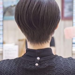 ミニボブ ショートボブ ショート ショートヘア ヘアスタイルや髪型の写真・画像