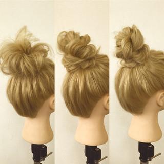 ヘアアレンジ 簡単ヘアアレンジ ロング ショート ヘアスタイルや髪型の写真・画像