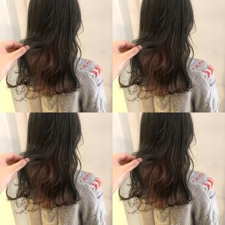 簡単ヘアアレンジ アンニュイほつれヘア セミロング デート ヘアスタイルや髪型の写真・画像