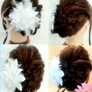 ロング 大人女子 ショート フェミニン ヘアスタイルや髪型の写真・画像