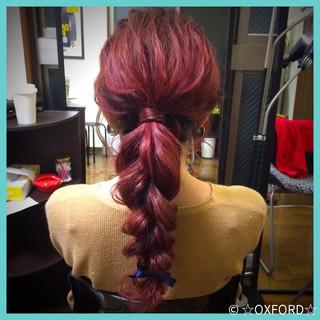 外国人風 ヘアアレンジ ロング 簡単ヘアアレンジ ヘアスタイルや髪型の写真・画像