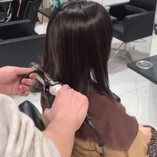 スタイリング動画 切りっぱなしボブ ショートボブ 簡単スタイリング ヘアスタイルや髪型の写真・画像