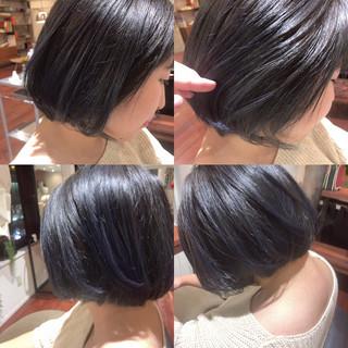 黒髪 ナチュラル 外国人風 暗髪 ヘアスタイルや髪型の写真・画像