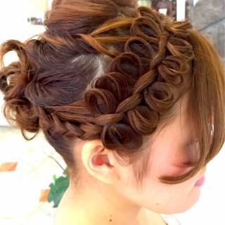 コンサバ 愛され 大人かわいい 三つ編み ヘアスタイルや髪型の写真・画像