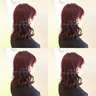 大人かわいい 渋谷系 透明感 セミロング ヘアスタイルや髪型の写真・画像