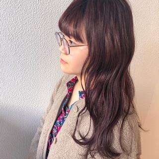 ガーリー ダブルカラー グラデーションカラー ブリーチ ヘアスタイルや髪型の写真・画像