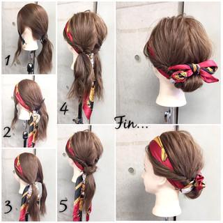 簡単ヘアアレンジ ヘアアレンジ ヘアアクセ ショート ヘアスタイルや髪型の写真・画像 ヘアスタイルや髪型の写真・画像