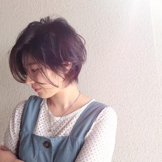 ショート ショートヘア マッシュショート ショートボブ ヘアスタイルや髪型の写真・画像