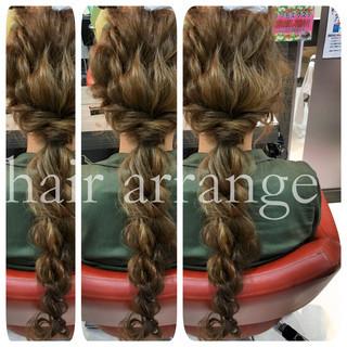 ロング ショート ヘアアレンジ 外国人風 ヘアスタイルや髪型の写真・画像 ヘアスタイルや髪型の写真・画像