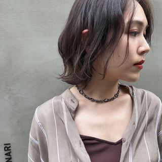 アンニュイほつれヘア 外国人風カラー ナチュラル 暗髪 ヘアスタイルや髪型の写真・画像
