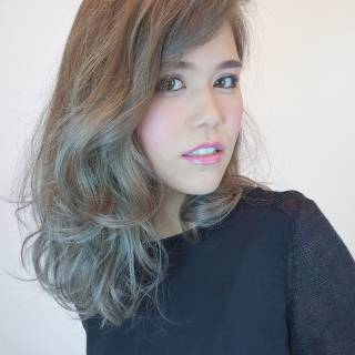 秋 愛され 外国人風カラー モテ髪 ヘアスタイルや髪型の写真・画像 ヘアスタイルや髪型の写真・画像