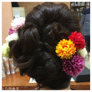 ヘアアレンジ 成人式 結婚式 着物 ヘアスタイルや髪型の写真・画像 ヘアスタイルや髪型の写真・画像