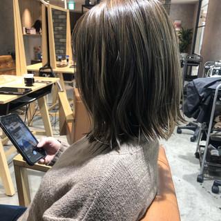 透明感カラー インナーカラー ダメージレス グラデーションカラー ヘアスタイルや髪型の写真・画像
