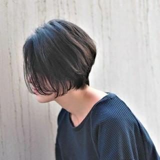 パーマ 大人女子 黒髪 前髪なし ヘアスタイルや髪型の写真・画像
