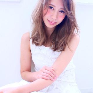 大人かわいい 外国人風 ガーリー ゆるふわ ヘアスタイルや髪型の写真・画像