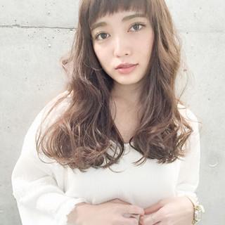 冬 外国人風 ガーリー パーマ ヘアスタイルや髪型の写真・画像