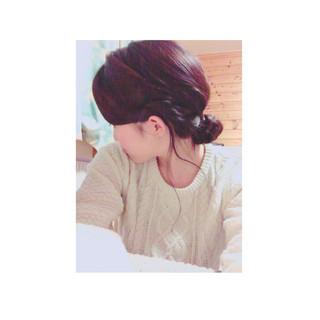 ゆるふわ ヘアアレンジ ショート ロング ヘアスタイルや髪型の写真・画像 ヘアスタイルや髪型の写真・画像