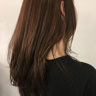 極細ハイライト うぶ毛ハイライト ナチュラル 大人ハイライト ヘアスタイルや髪型の写真・画像