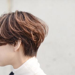 ストリート 透明感 秋 ハイライト ヘアスタイルや髪型の写真・画像